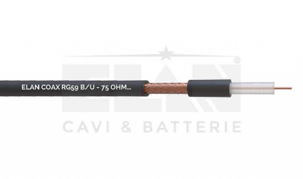 CAVO COASSIALE RG59 B/U 75 OHM