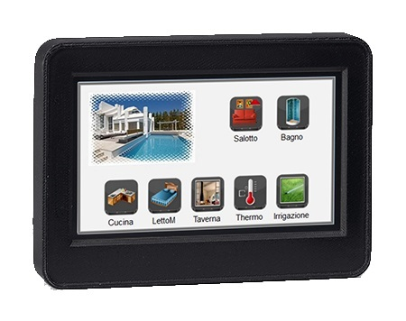"""DFTOUCH-NERO TOUCH SCREEN 4,3"""" PER 503"""